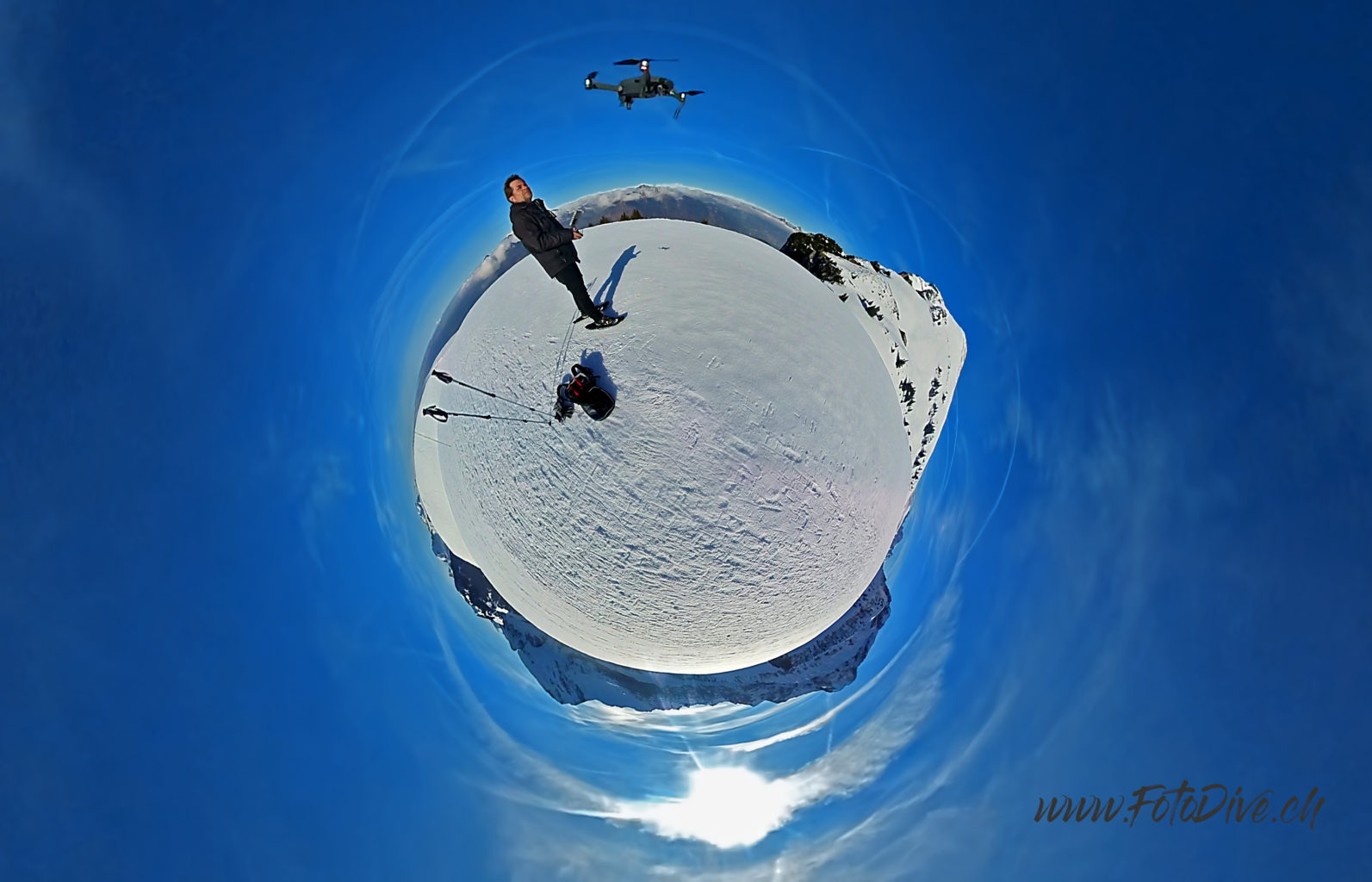 360 Photography, Flying the Mavic Pro, Niederbauen Canton Unterwalden - Switzerland