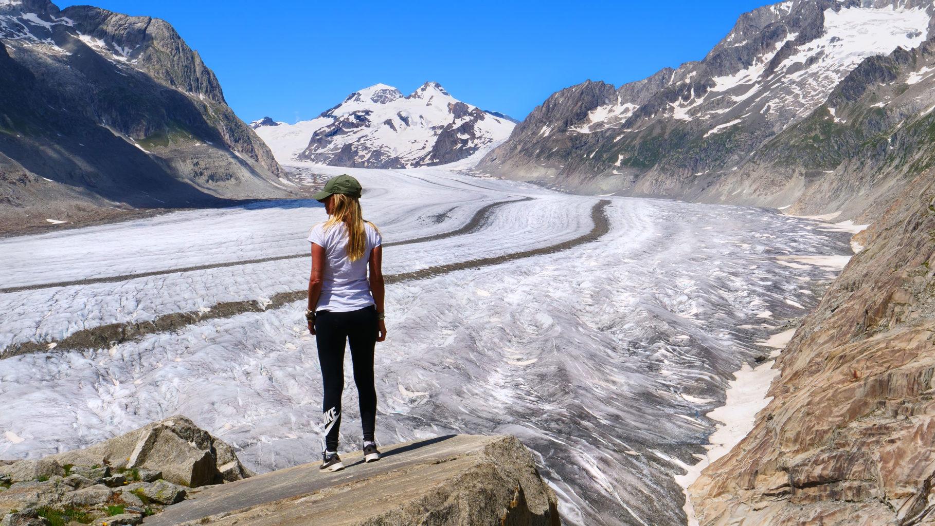The Great Aletsch Glacier Switzerland / Der Grosse Aletschgletscher, Schweiz